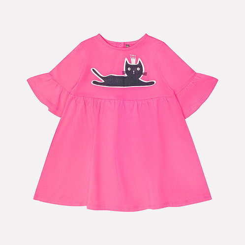 Платье KР 5547/ярко-розовый к213