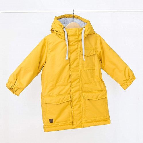 Куртка Парка демисезон горчица