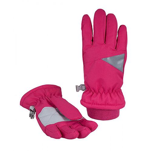 Перчатки детские арт G-114, ярко розовый