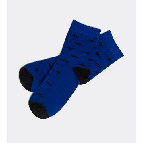 776 Носки, синий кобальт 400K-776