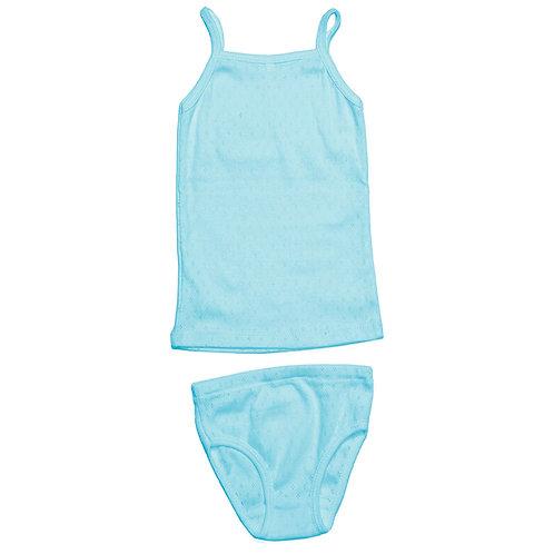 Комплект для девочки, голубой