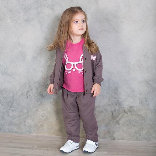 170Б-461 Комплект Бомбер брюки ДД 'Мокко'