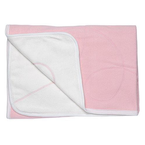 Одеяло теплое флис 86*90 хлопок, розовый M000007FL