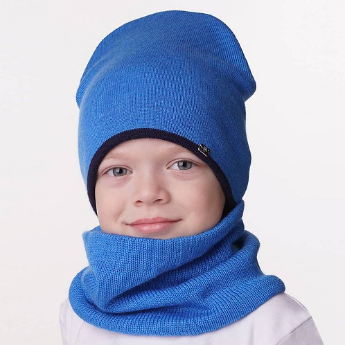 Снуд детский Успех, голубой