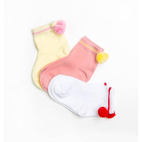 Носки детские (3 пары) 407A-753 , Фисташковый