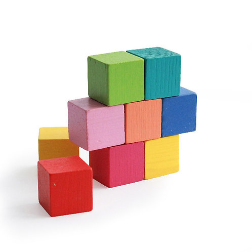 """4-43 Кубики """"Мини"""" (9 штук)"""
