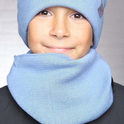 "Снуд детский  ""Виват"", голубой"