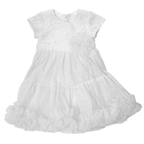 Платье нарядное Ассоль, белый