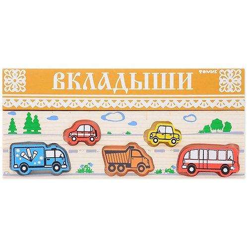 "362 Доска-Вкладыш ""Транспорт"""