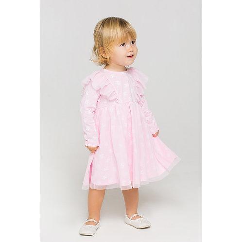 Платье K 5539/розовое облако,весна