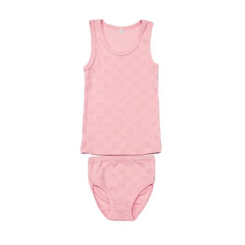 251-33  Комплект для девочки,розовый