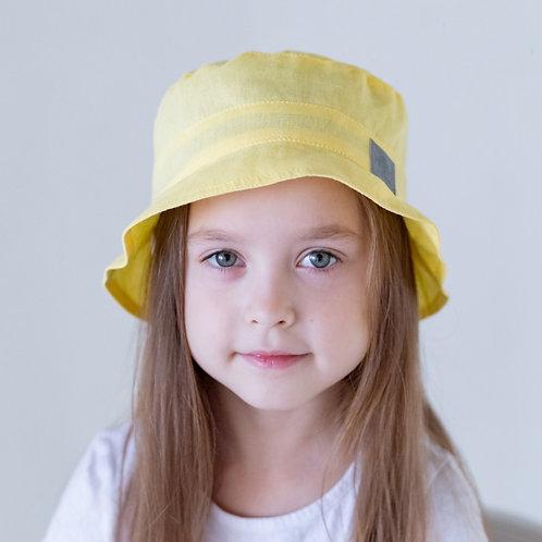 ПЛ19-24053842 Панамка НоН со светоотражающим шевроном, желтый