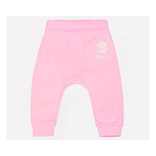 К 4634/неж.розовый(лесные животные) брюки