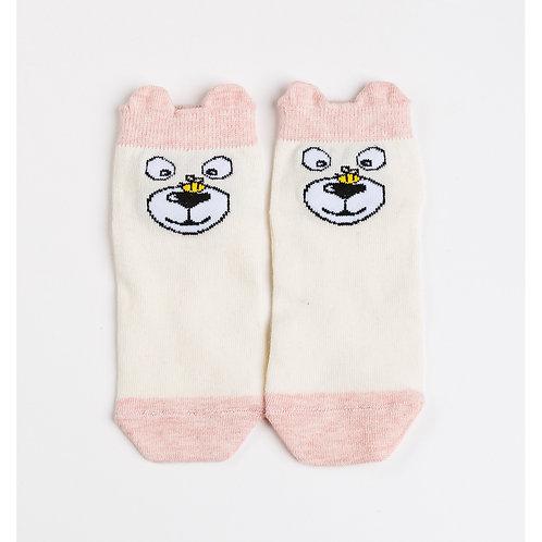 Носки детские 405K-629 , розовый меланж
