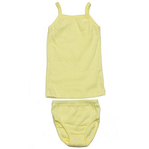 Комплект для девочки, желтый