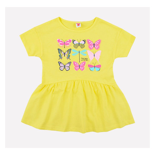 Платье K 5513/бледный лимон