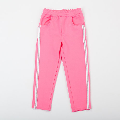 00014_BAT Треггинсы (брюки)  розовый