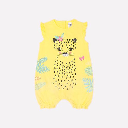 Песочник для девочки  К 6176/сочный лимон(леопард)
