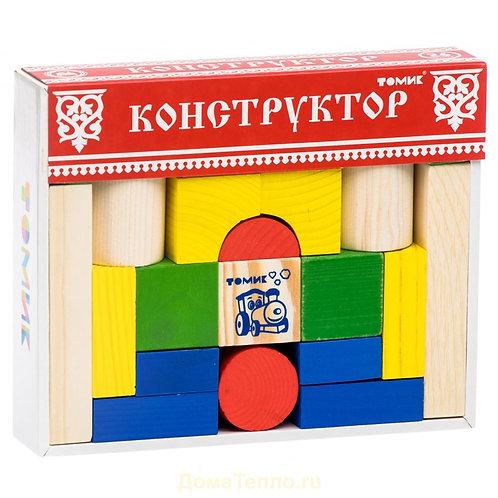 """6678-26 Конструктор """"Цветной"""" 26 дет"""