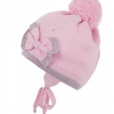 Cld-2  Шапка  детская подкл.,розовый