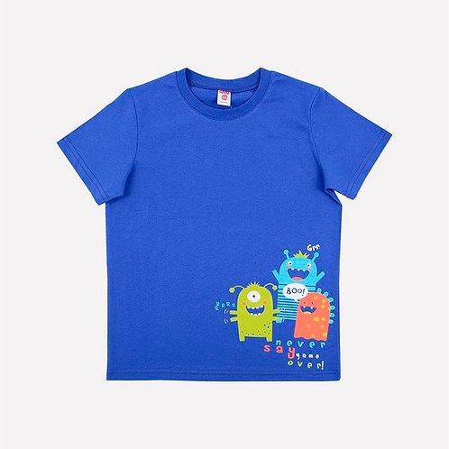 Футболка Crockid К 300672/ярко-синий