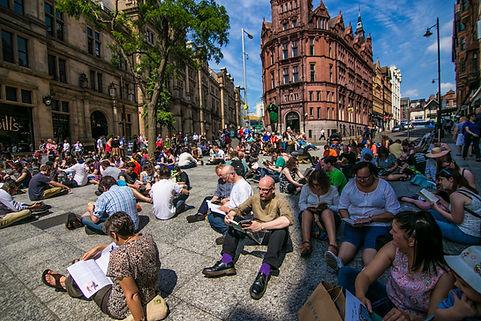 Slab Square Readers _ Nottingham City of