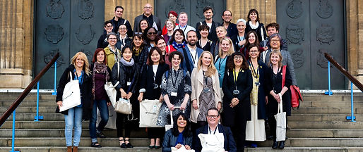 Delegates from UNESCO Cities of Literature in Norwich, 2019