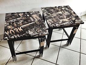 tavolo realizzato a mano, handmade table, mesa hecha a mano