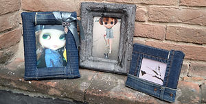 cornici portafoto realizzate a mano, photo frames handmade, marco de fotos hecho a mano
