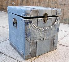 baule realizzato a mano, handmade trunk, tronco hecho a mano