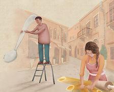 illustration pasta Italy.pg