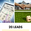 Thumbnail: 20 Real Estate Leads