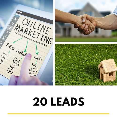 20 Real Estate Leads