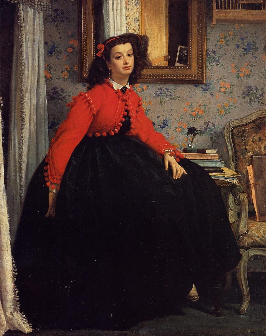 Portrait de Mademoiselle L.L. – 1864