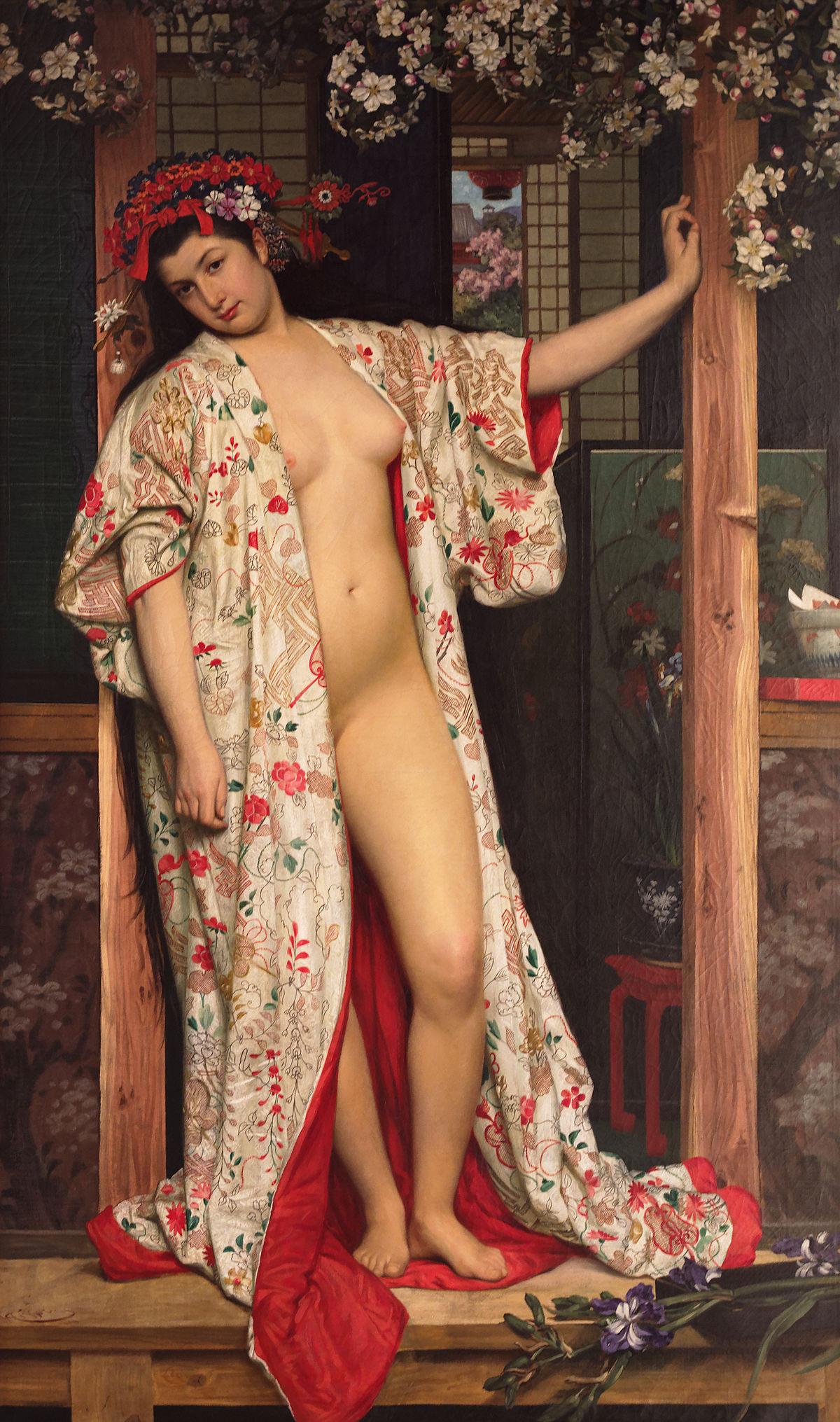 Japonaise au bain – 1864