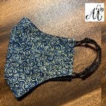 Handmade fashion 3 ply cotton face masks