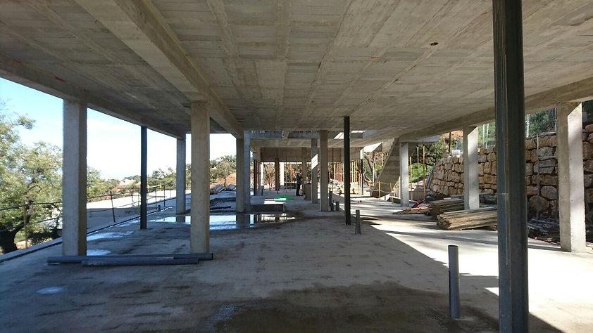Werkbezoek villa Marbella