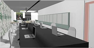 3D visualisatie Bureau Herengracht