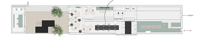 Nieuwe interieurindeling Bureau Herengracht