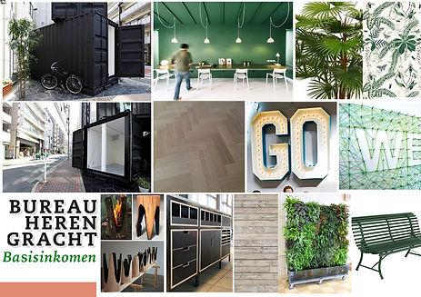 Moodboard Bureau Herengracht