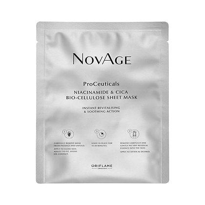NOVAGE Μάσκα Προσώπου με Νιασιναμίδη & Βιοκυτταρίνη Cica NovAge ProCeuticals
