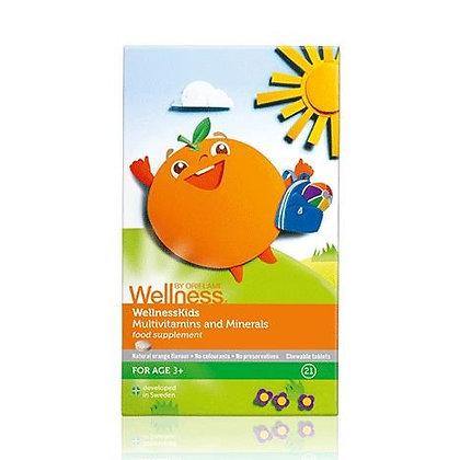 WELLNESS BY ORIFLAME Πολυβιταμίνες & Μέταλλα για Παιδιά WellnessKids
