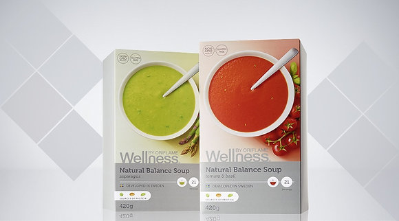 WELLNESS BY ORIFLAME Σούπα Natural Balance