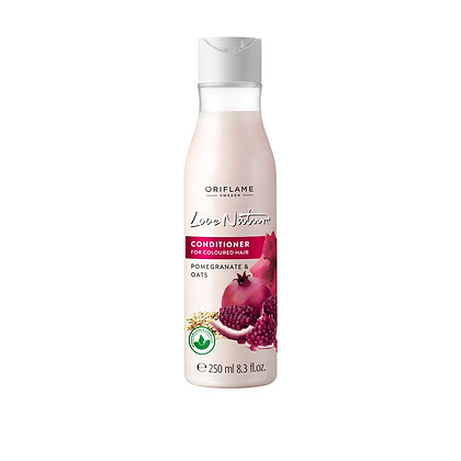 LOVE NATURE Conditioner για Βαμμένα Μαλλιά με Ρόδι & Βρώμη Love Nature