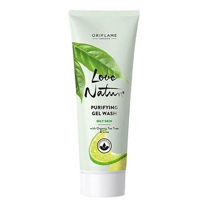 Gel Καθαρισμού με Οργανικά Εκχυλίσματα Τεϊόδεντρου & Lime Love Nature