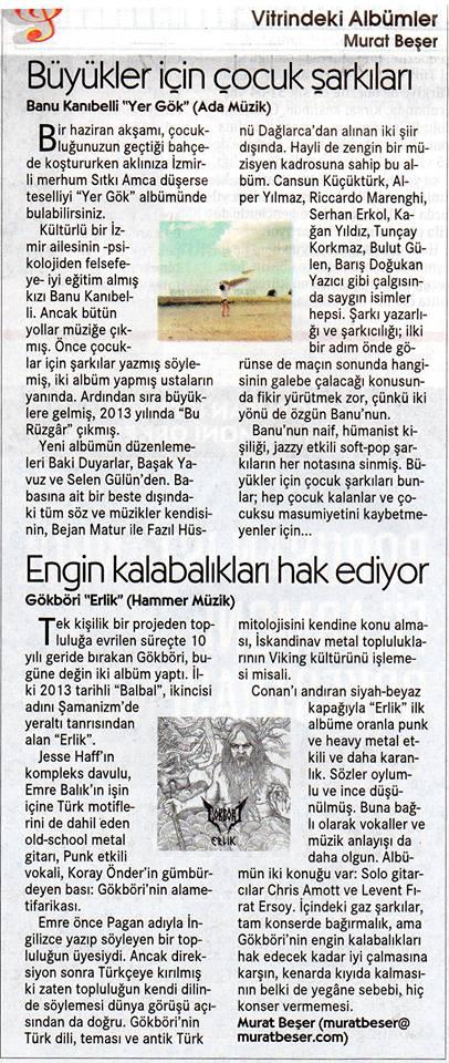 Murat Beşer, Cumhuriyet 07.10.2017