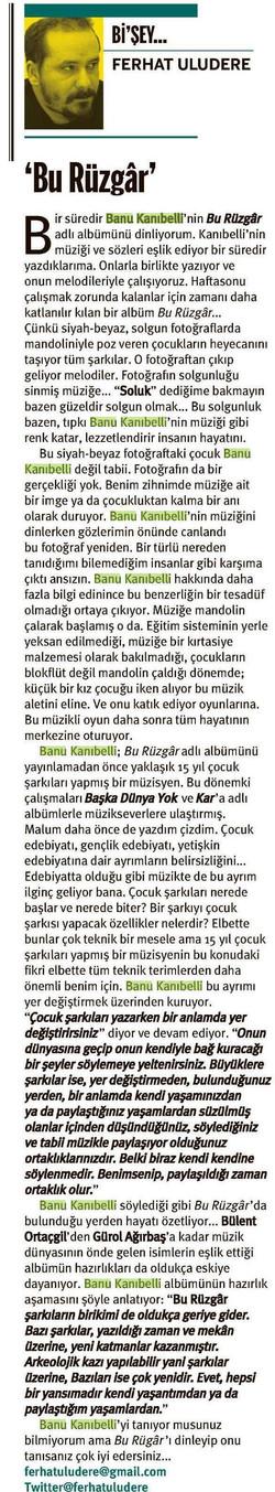 Ferhat Uludere, Taraf, 04.03.2013