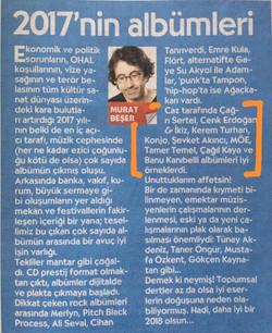 Murat Beşer, Cumhuriyet 12.2017