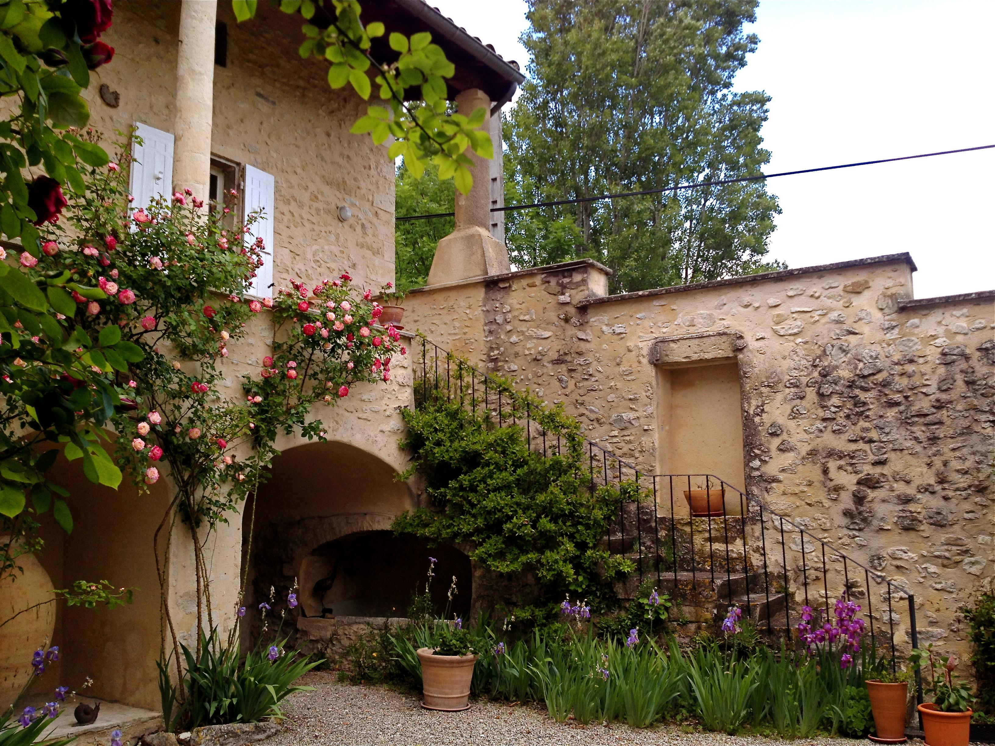 escalier Mas Provençal