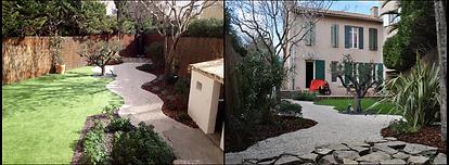 création jardin paysager
